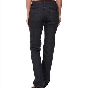 Prana Jada Black Straight Leg Jeans